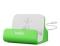BELKIN Tischladestation mit Sync-Funktion passend zum Apple iPhone5/5s, iPod Touch5 und iPod nano - Grün