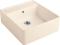 Villeroy & Boch 632061 FU Spülstein Einzelbecken Ivory C+ Handbet.Keramik-Spüle Einb. ab 60cm Unterschrank